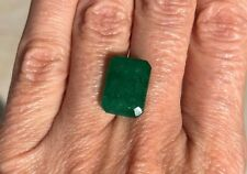 Natural Colombian Emerald •8.93 Ct • Emerald Cut Loose Gemstone • Stone #69