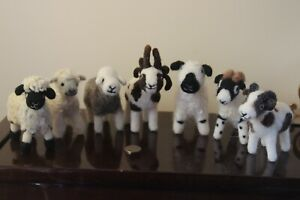 Needle Felted sheep - Various Breeds Handmade and all wool (no wire)