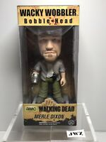 Funko The Walking Dead Merle Dixon Bobble Head Wacky Wobbler Figure