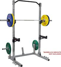 Sunny Health & Fitness Power and Squat Rack with High Weight Capacity, Olympic