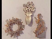 Vintage Estate 925 Silver Artisan Brooches By David (Dudu) Gerstein