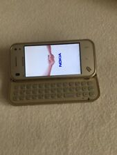 Nokia N97 mini- Gold - Unlocked CellPhone *VINTAGE* *COLLECTIBLE* *RARE*