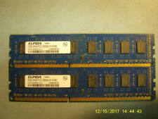 ELPIDA 4GB SET 2 x 2GB PC3-10600 DDR3 240 PIN DIMM EBJ21UE8BDF0-DJ-F
