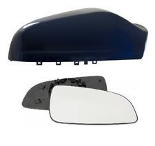 Vauxhall Astra MK5 Wing Mirror Cover (Ultra Blue) & Mirror Glass 05-09 RHS