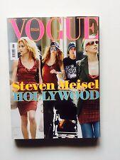 Vogue Italia n.653 2005 Steven Meisel Hollywood David Lachapelle Karl Lagerfeld
