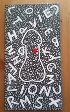Homenaje a Keith Haring Pene Arte, Homo erótico, LGBT, Gay Arte Pintura al pájaro