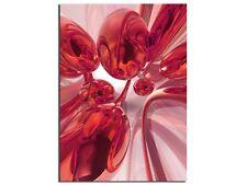 Premium Glasbild AG5705001016 DEKO 50 x 70 cm FEUER ABSTRAKT RED