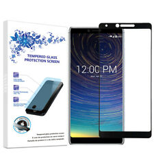 For CoolPad Legacy 2019 Full Cover Tempered Glass Screen Protector -Black