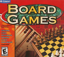 BOARD GAMES for PC - Chess, Checkers, Backgammon, Word Search, Basketball, Etc