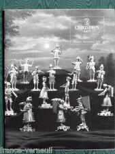Catalogue de vente Christie's  Orfevrerie Silver Americaine et Europeenne