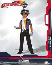 COSTUME, SUIT OF CARNIVAL, BEYBLADE SIZE 3 -8/10ANNI DISFRAZE SET ORIGINAL