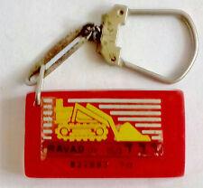 OLD Keychain Porte-clés Portachiavi Israel RAVAD Company Caterpillar