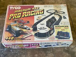 Tyco Magnum 440 Pro Racing HO Slot Car Race Track Set #6229 Parts