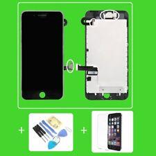 "iPhone 7 PLUS 7+ RETINA 5,5"" DISPLAY LCD VORMONTIERT Glas Komplett SCHWARZ Black"