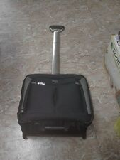 """Samsonite Rolling Office Briefcase Computer Laptop Carry On Bag Luggage lock 17"""""""