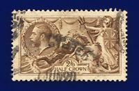 1918 SG415a 2s6d Pale Brown Bradbury Wilkinson N65(5) Good Used Cat £85 cqdz
