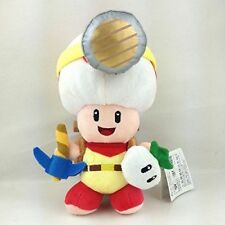 Super Mario Bros.Standing Smile Captain Toad Character Doll Stuffed Toy Gift