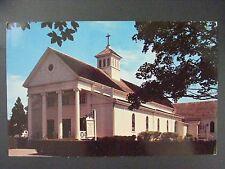 Hyannis Cape Cod Massachusetts St. Francis Xavier Church Color Postcard 1950s