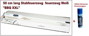 """50 cm lang Stabfeuerzeug  feuerzeug Weiß """"BBQ XXL"""""""