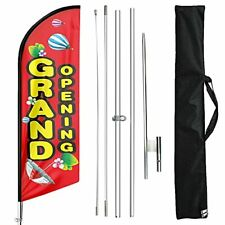 Fsflag Grand Opening Swooper Windless Flag And Pole Kit 11 Ft Advertising G