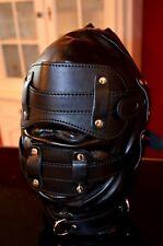 Ledermaske / Maske, bondage, fetisch, bdsm, domina, latex, gothic, Schlösser