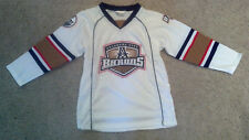 Oklahoma City Barons Hockey Jersey Youth X-Large XL White Edmonton Oilers Minor