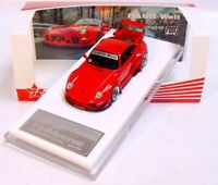 "1:64 FUELME RAUH-Welt PORSCHE 911 (993) RWB ""Fishbone"" guards red L.E. 999 pcs."