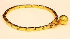 """22k gold handmade BAHT Box BRACELET handmade from Thailand 7.0"""" #b1"""