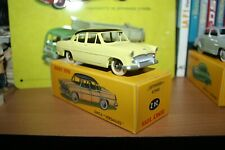 Dinky toys atlas 24 z simca versailles yellow new black roof box 1/43