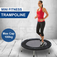 36 in Mini Trampoline Jogger Rebounder Home Gym Workout Fitness Outdoor Indoor B