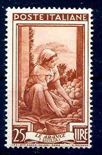 ITALIA 1950 - ITALIA AL LAVORO Lire 25  NUOVO **