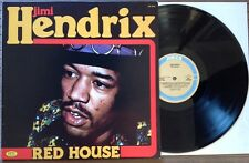 JIMI HENDRIX / RED HOUSE - LP (Italy 1983) NEAR MINT