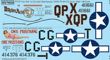 KITS-WORLD DECALS 1/48 North-American P-51D Mustang # 48177