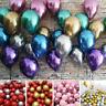 "10pcs 12"" Metallic Latex Balloons Wedding Birthday Party Decor Kids Baby Shower"
