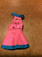 Dawn Doll Majorette Dress Only in Pink, Blue & Gold