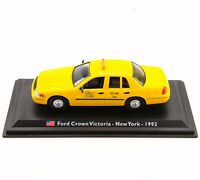 1/43 LEO Alloy Car Model Ford Crown Victoria-New York-1992 TAXI Diecast Toy Gift