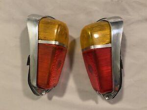 Fiat 600/Multipla Complete Tail Lights Set Rare Abarth