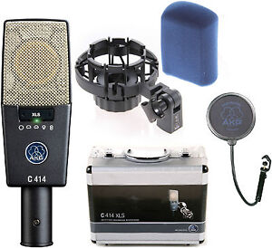 Like N E W AKG C414XLS Condenser Mic Auth Dealer - Opened Box Never Used!