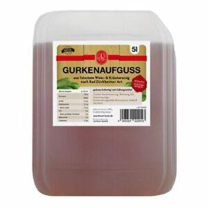 Hauer - Gurkenaufguss - 5l Kanister