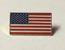 "NEW America Flag Enamel 1"" Lapel Pin United States USA VOTE America US TRUMP"