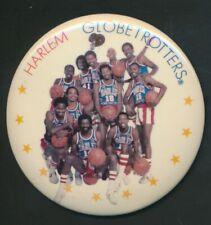"1970s Harlem Globetrotters 3"" Pin *2054"