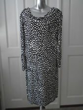 BLACK AND WHITE DRESS BY GHOST SIZE 16