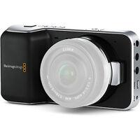 Blackmagic Design Pocket Cinema Camera with Micro Four Thirds Lens