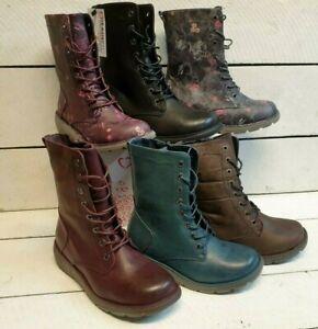 Ladies Heavenly Feet Martina 2 Mid Calf Lace & Zip Vegan friendly Boots