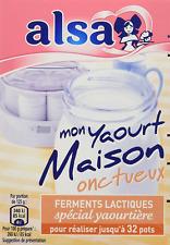 Alsa Préparation mon yaourt Maison onctueux 128 Pots