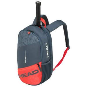 TOPANGEBOT: Head Elite Backpack - grau/orange (Radical-Design) - Tennis-Rucksack