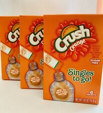 Orange Crush ~ 18 Packets ~ Sugar Free ~ Drink Mix ~