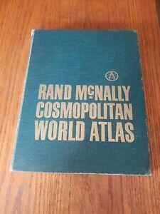 Rand McNally Cosmopolitan World Atlas (vintage 1964, Good Condition)