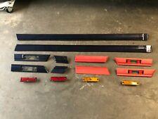 1986-1991 S5 Mazda  Side Moldings Trim Set + Side Markers Set