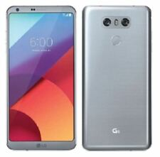 "Unlocked LG G6 (Latest 5.7"") H871 32GB 4G LTE Ice Platinum (AT&T T-Mobile) Phone"